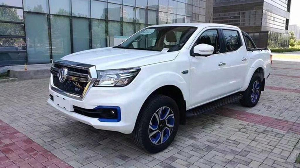 Nissan lança picape elétrica com 403 km de autonomia Dongfe12