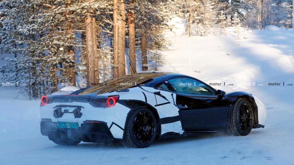 Supercarro híbrido da Ferrari será revelado neste mês Ferrar21