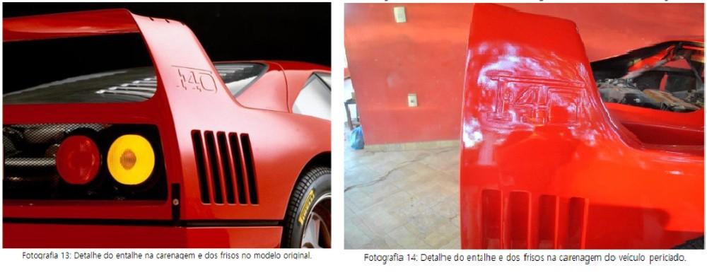 Polícia constata plágio de Ferrari em réplica apreendida em Cachoeira Paulista, SP Ferrar28