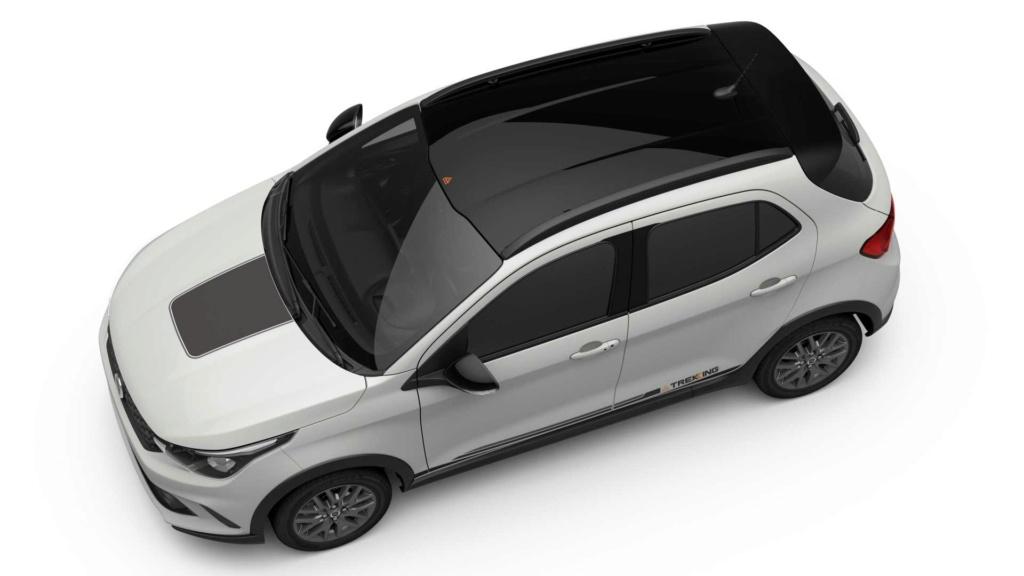 Fiat Argo aventureiro se chamará Trekking e estreará em abril Fiat-a10
