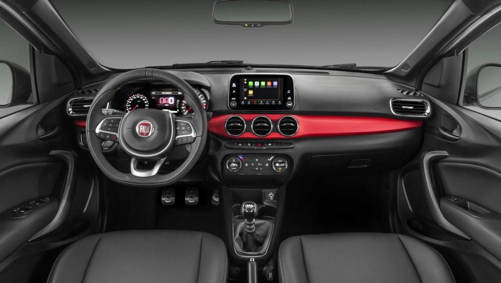 Fiat Argo com câmbio automático CVT só chega em 2020 Fiat-a41