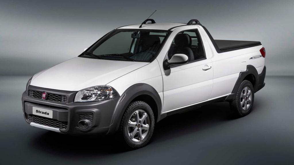 Picapes mais vendidas: Strada em alta e Toro em baixa em fevereiro Fiat-s15