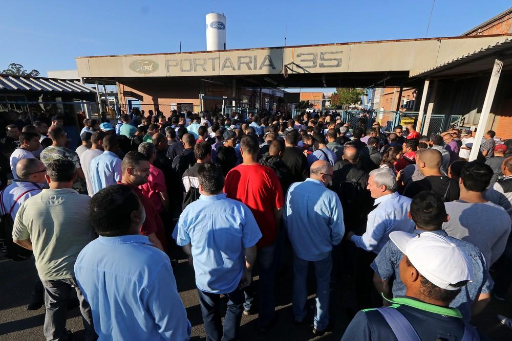 Noticia: Funcionários da Ford em São Bernardo do Campo encerram greve Ford-a10