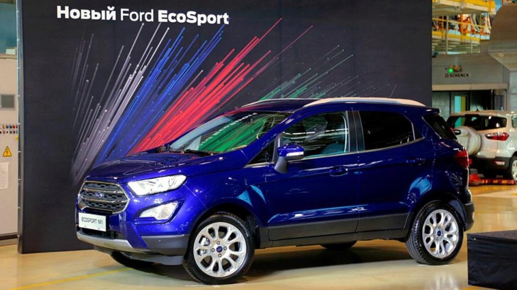 Ford deixará de produzir carros de passeio na Rússia Ford-e14