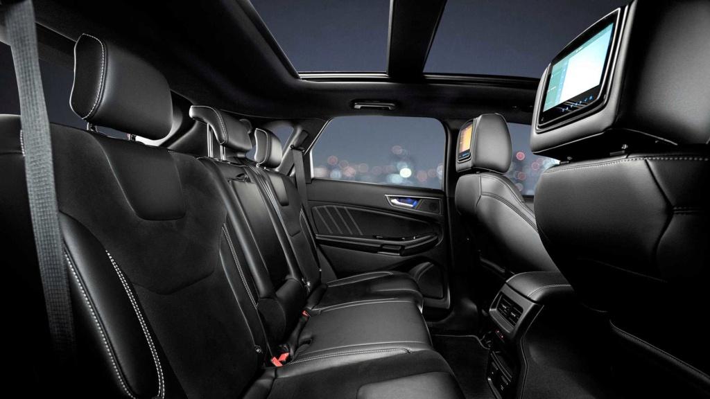 Ford Edge ST começa a mostrar a nova cara da marca Ford-e28