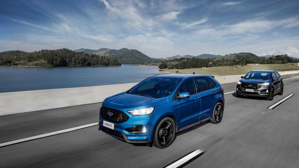 Ford Edge ST começa a mostrar a nova cara da marca Ford-e31