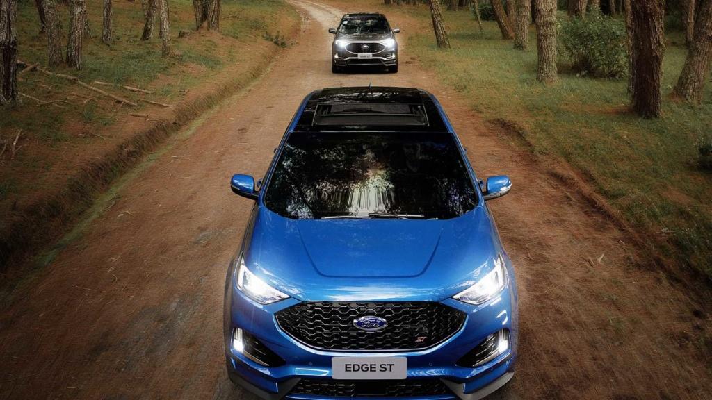 Ford Edge ST começa a mostrar a nova cara da marca Ford-e34