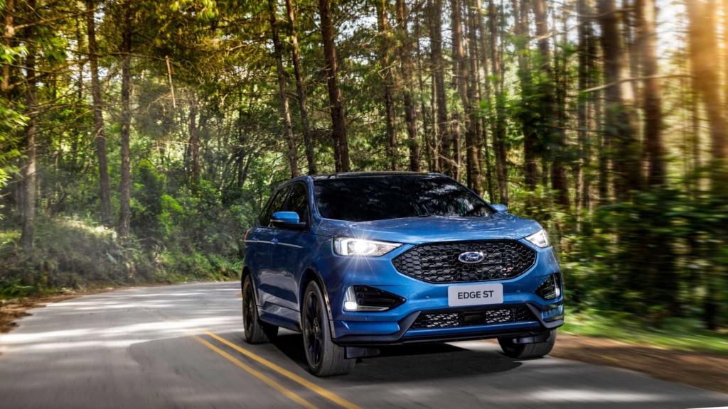 Ford Edge ST começa a mostrar a nova cara da marca Ford-e35