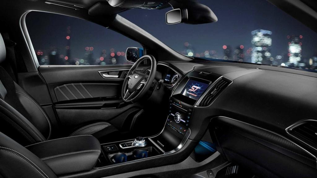 Ford Edge ST começa a mostrar a nova cara da marca Ford-e38