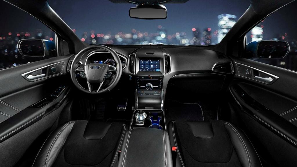 Ford Edge ST começa a mostrar a nova cara da marca Ford-e41