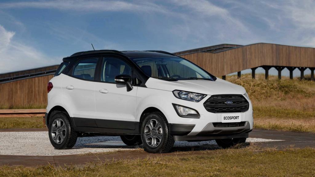 Ford EcoSport volta a ficar mais caro com reajustes de até R$ 3.850 Ford-e52