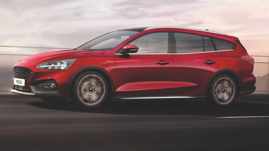Longe do Brasil, Ford Focus ganha versão aventureira de luxo Ford-f30