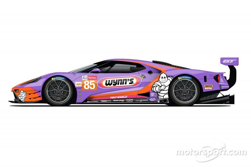 De saída do WEC, Ford revela pinturas retrô para 24 Horas de Le Mans Ford-g14