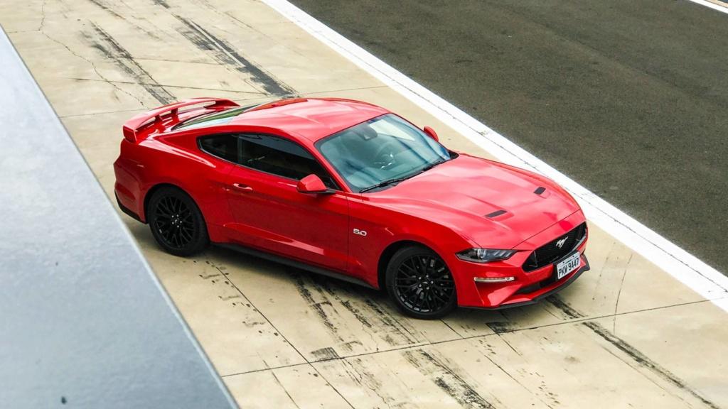 Mustang é o esportivo mais vendido do mundo pela quarta vez Ford-m13