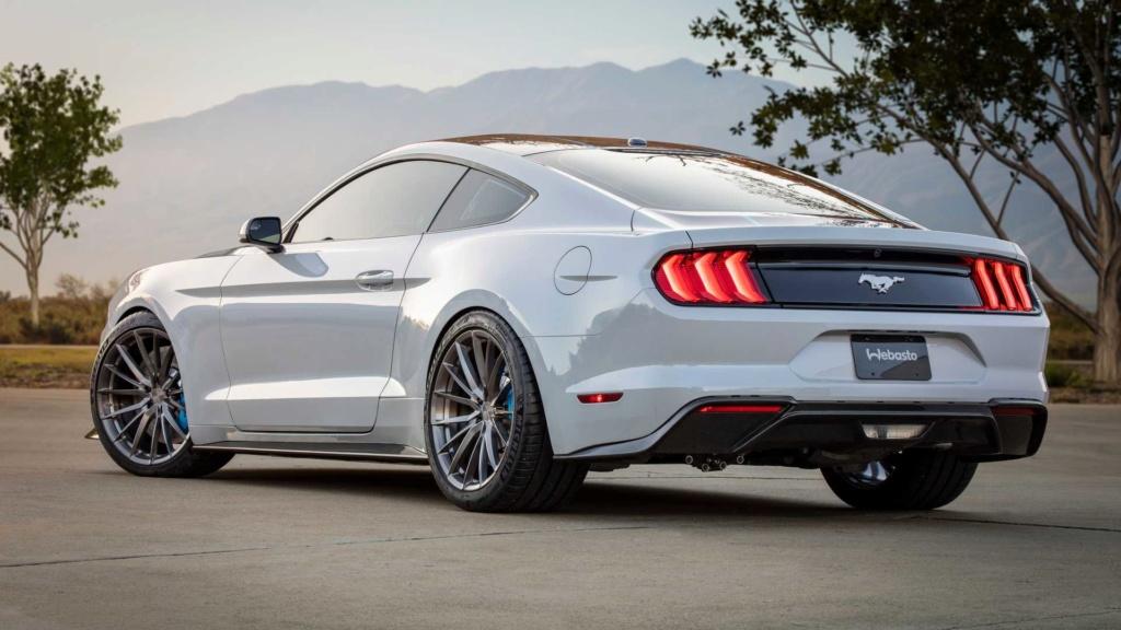 Ford Mustang Lithium troca motor V8 por elétrico de 900 cv Ford-m19