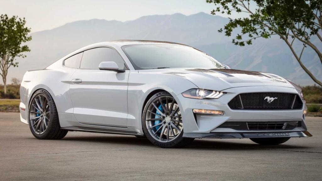 Ford Mustang Lithium troca motor V8 por elétrico de 900 cv Ford-m20