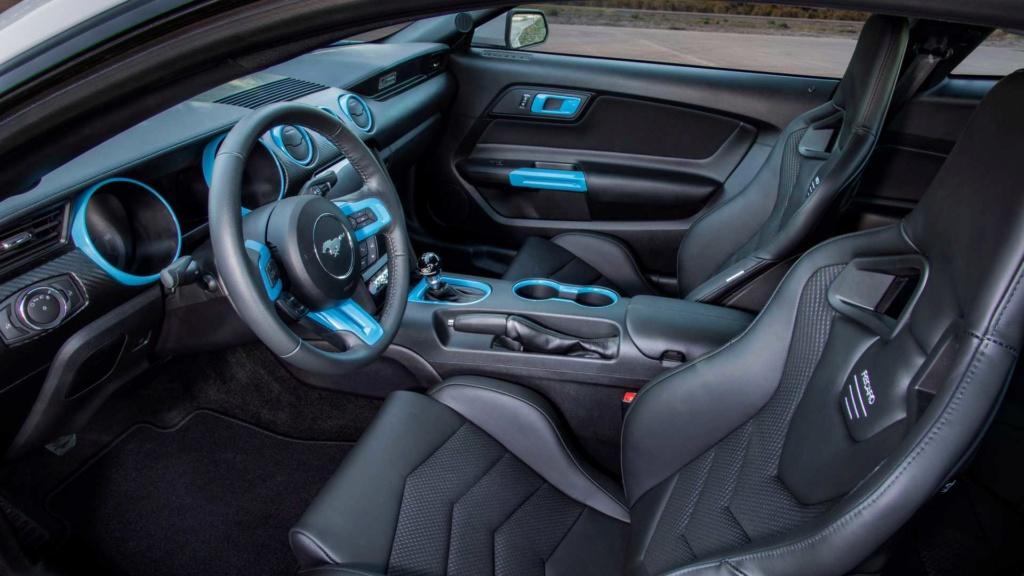 Ford Mustang Lithium troca motor V8 por elétrico de 900 cv Ford-m21