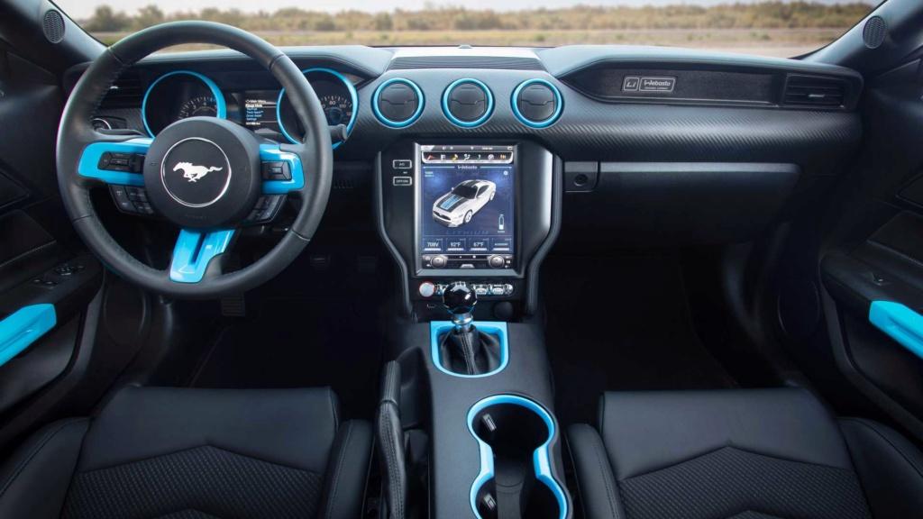 Ford Mustang Lithium troca motor V8 por elétrico de 900 cv Ford-m22