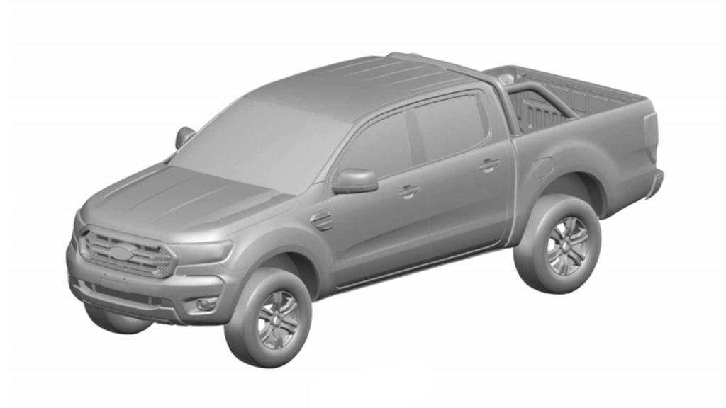 Segredo: Ford registra nova Ranger 2020 no Brasil Ford-r14