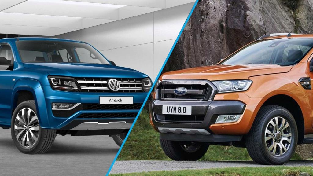Ford e Volkswagen confirmam novas gerações de Ranger e Amarok para 2022 Ford-r42