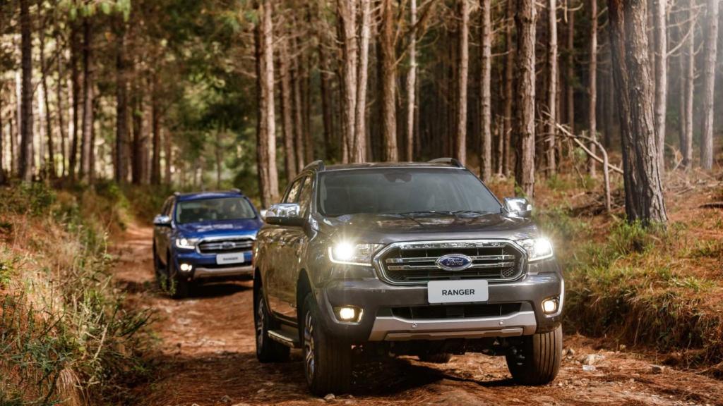 Novas Ford Ranger e Volkswagen Amarok não terão versão híbrida Ford-r43