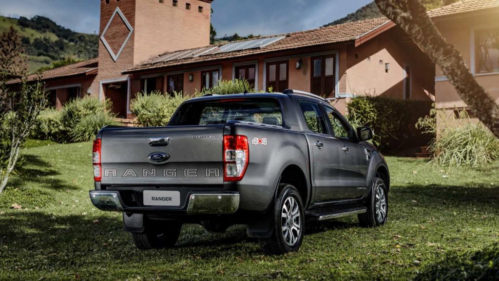Novas Ford Ranger e Volkswagen Amarok não terão versão híbrida Ford-r44