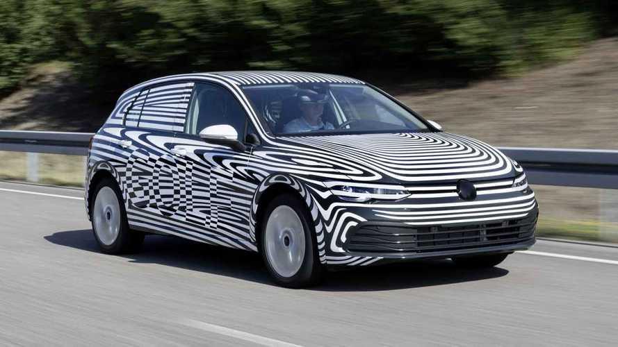 Novo VW Golf 2020 aparece em primeiro teaser Golf-810