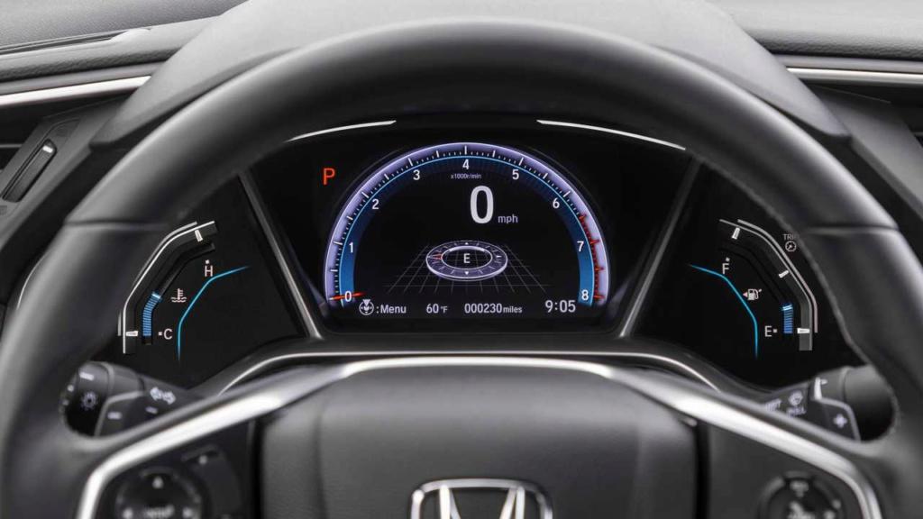 Honda Civic 2019 agora renovado Honda-39