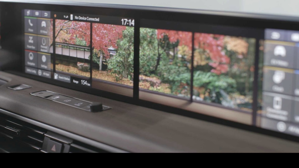Honda E 2020: elétrico exibe painel com telas digitais duplas Honda124