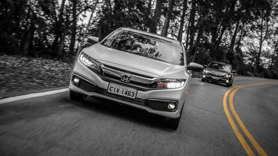 Civic e Cruze reduzem distância para o Corolla; veja ranking de vendas Honda134