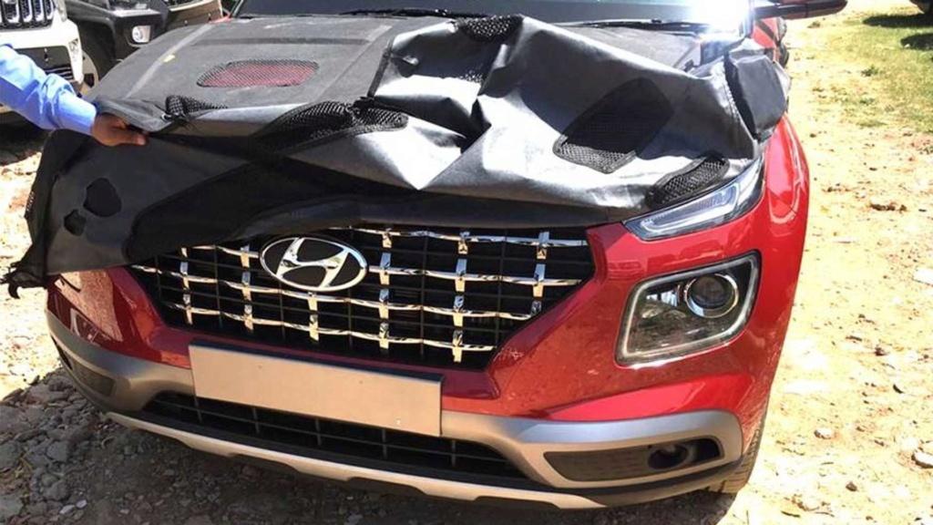 Novo Hyundai Venue: vazam imagens do SUV menor que o Creta Hyunda22