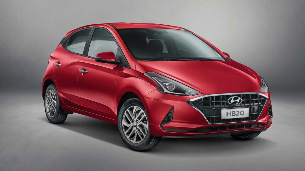 Novo Hyundai HB20 2020 é revelado oficialmente Hyunda75