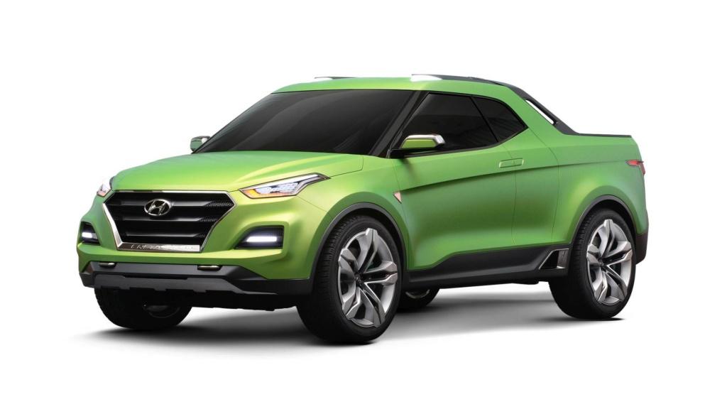 Inédita picape da Hyundai no Brasil depende de sucesso nos EUA Hyunda81