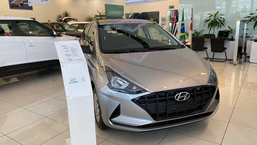 """Hyundai HB20 assume liderança e VW cai para quinto em abril """"maluco"""" Hyunda98"""