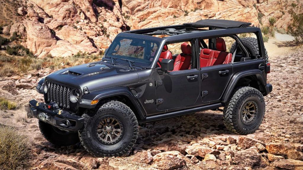Jeep Wrangler com V8 de 457 cv será produzido em resposta ao Bronco, diz revista Jeep-w13
