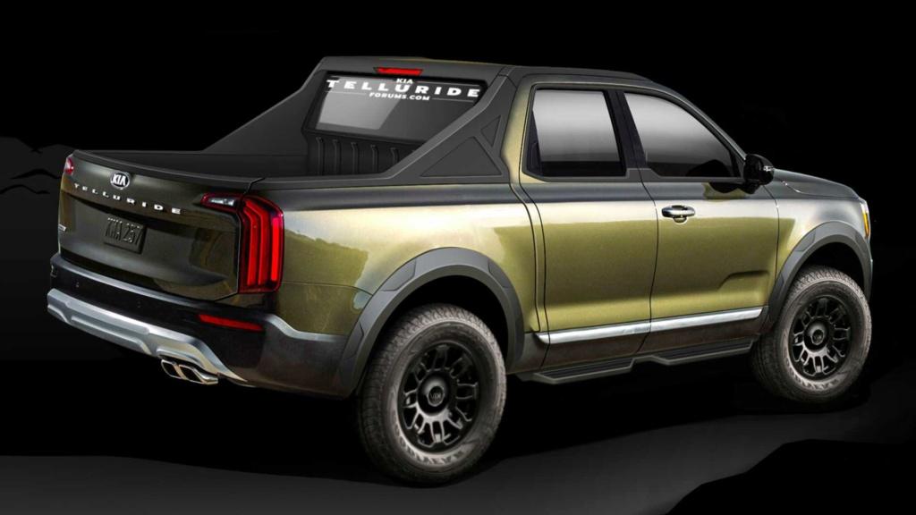 Kia prepara picape para brigar com Toyota Hilux e Ford Ranger em 2022 Kia-te10