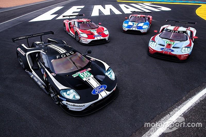 De saída do WEC, Ford revela pinturas retrô para 24 Horas de Le Mans Le-man10