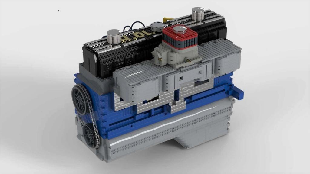 Conheça um motor funcional de Lego que precisa de seu apoio Lego-i10