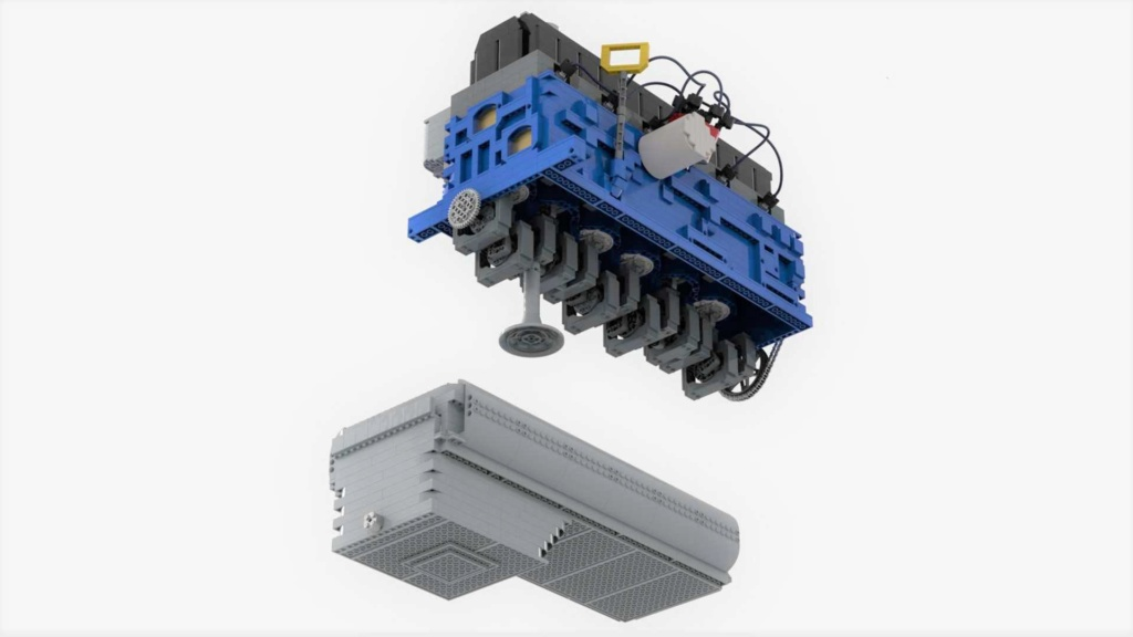 Conheça um motor funcional de Lego que precisa de seu apoio Lego-i11