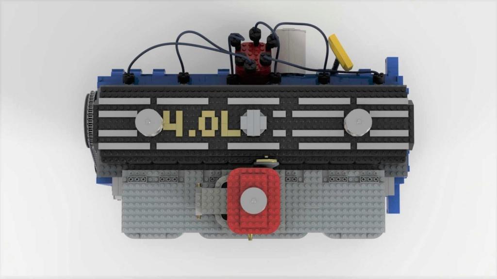 Conheça um motor funcional de Lego que precisa de seu apoio Lego-i12