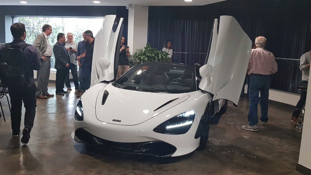 McLaren 600LT Spider e 720S Spider chegam a partir de R$ 3,25 milhões Mclare10