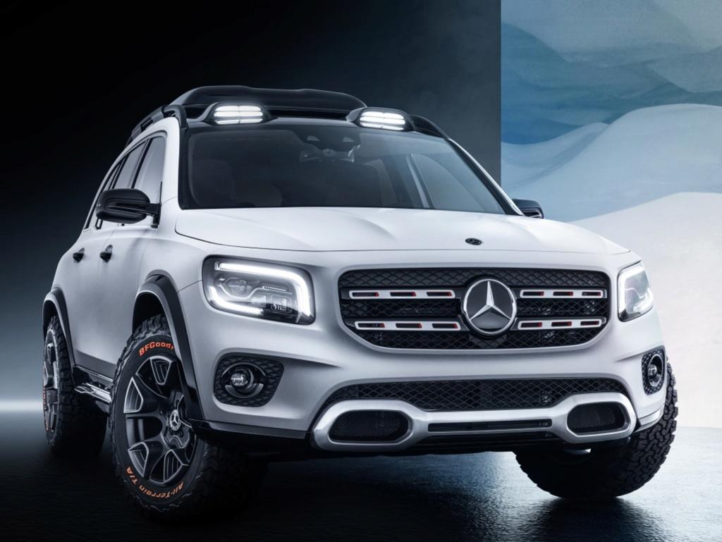 Mercedes-Benz mostra conceito do inédito GLB no Salão de Xangai Merced11
