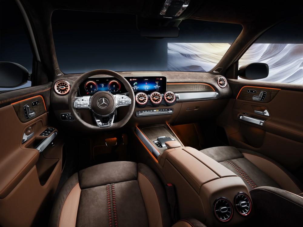 Mercedes-Benz mostra conceito do inédito GLB no Salão de Xangai Merced13