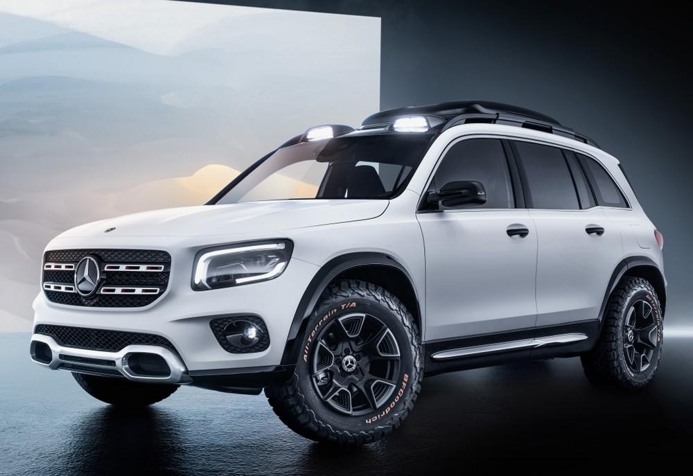 Mercedes-Benz mostra conceito do inédito GLB no Salão de Xangai Merced14
