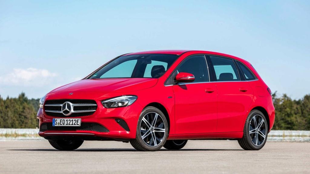 Mercedes-Benz revela Classe A e Classe B híbridos Merced29