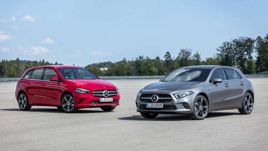 Mercedes-Benz revela Classe A e Classe B híbridos Merced30