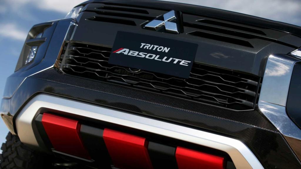"Mitsubishi Triton Absolute é versão ""Raptor"" da L200 Mitsub41"