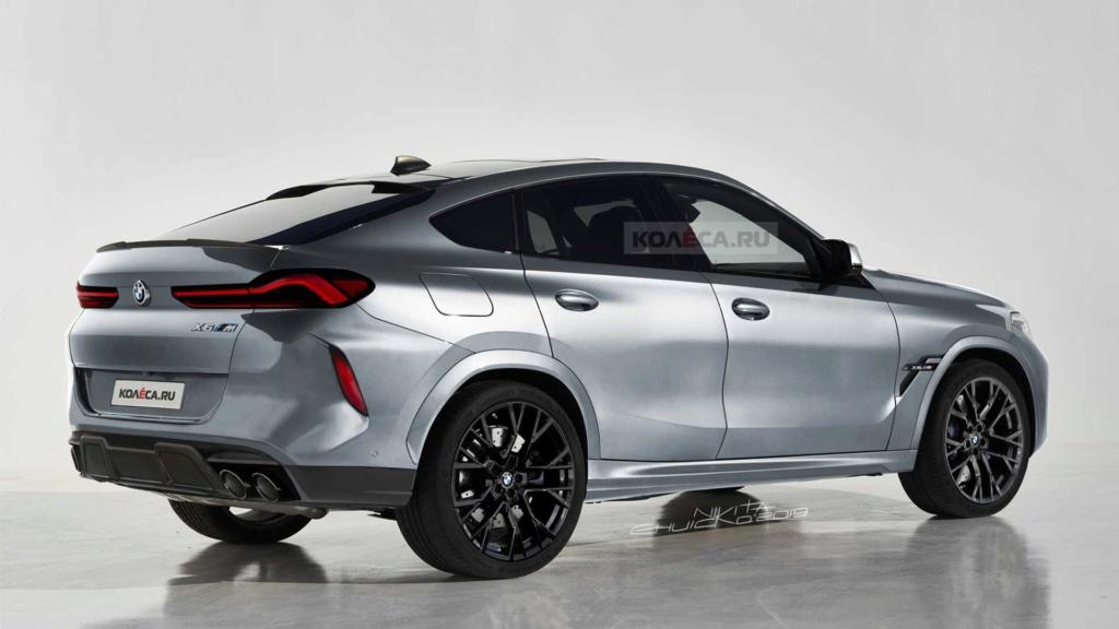 Novo BMW X6 M terá visual ainda mais agressivo e motor de 625 cv New-bm11