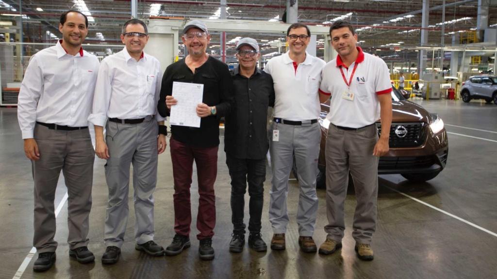Nissan Kicks alcança 100 mil unidades produzidas no Brasil Nissan47