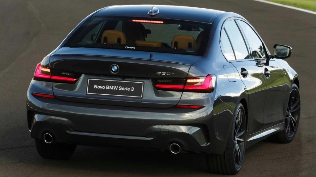 Série 3 e Série 5 colocam BMW no topo Novo-b24